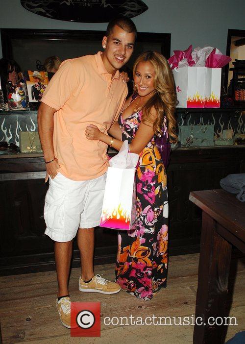 Robert Kardashian Jr and Adrienne Bailon 10