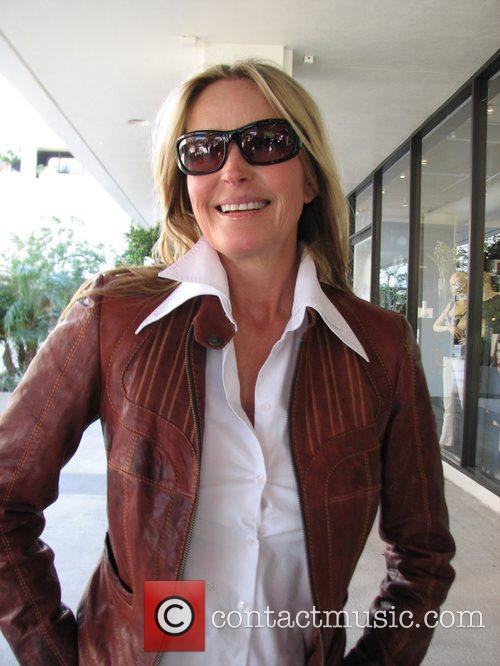 Bo Derek out and about on Robertson Los...