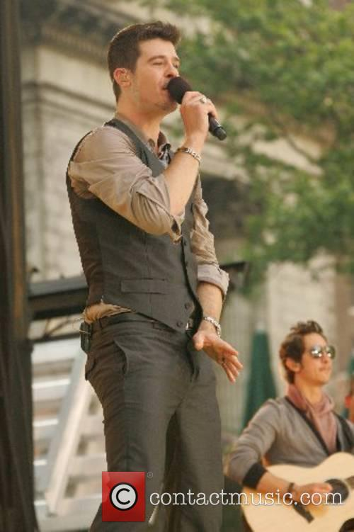 Performing live at the Good Morning America Summer...