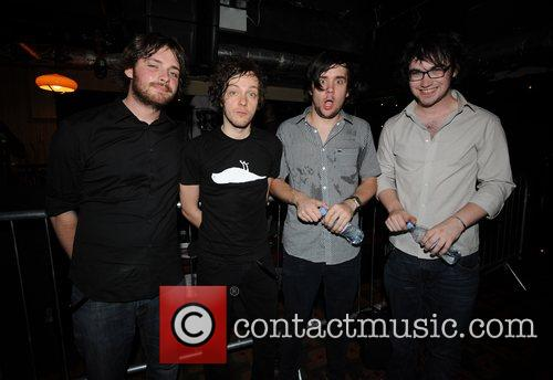 The Automatic at the launch party of the...