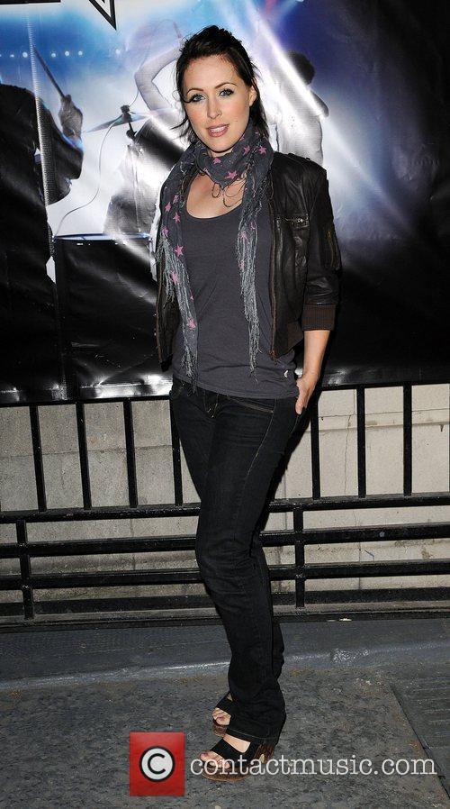 Jennifer Biddal 'Rock Band' video game launch at...
