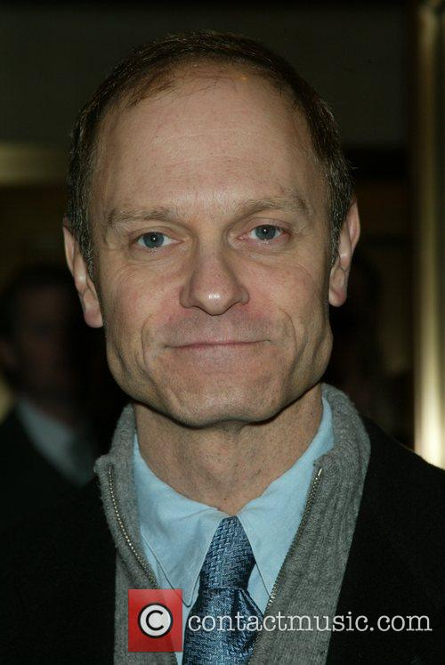 David Hyde Pierce  at the opening night...