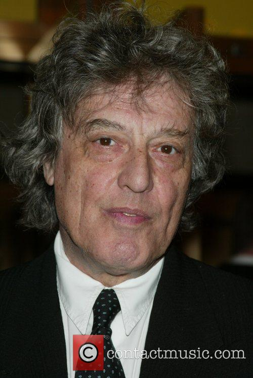 Tom Stoppard  at the opening night performance...