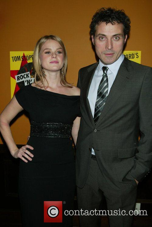 Alice Eve, Rufus Sewell Opening night of Tom...