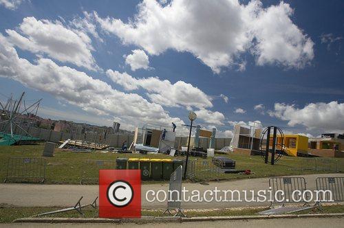 Rock In Rio Lisboa Construction Site 5