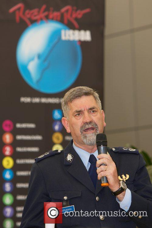 Costa Ramos, Chief Commander of Police at the...