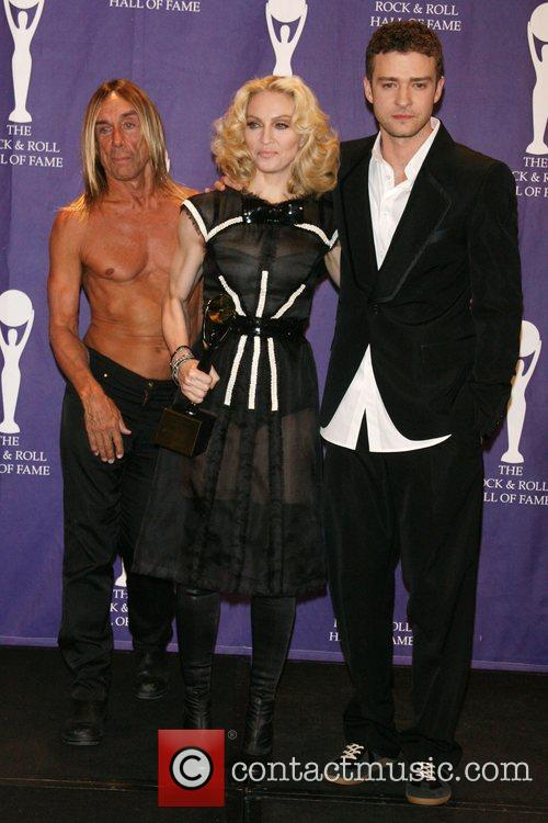 Iggy Pop, Madonna and Rock And Roll Hall Of Fame 3