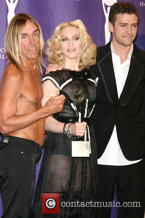 Iggy Pop, Madonna and Rock And Roll Hall Of Fame 6