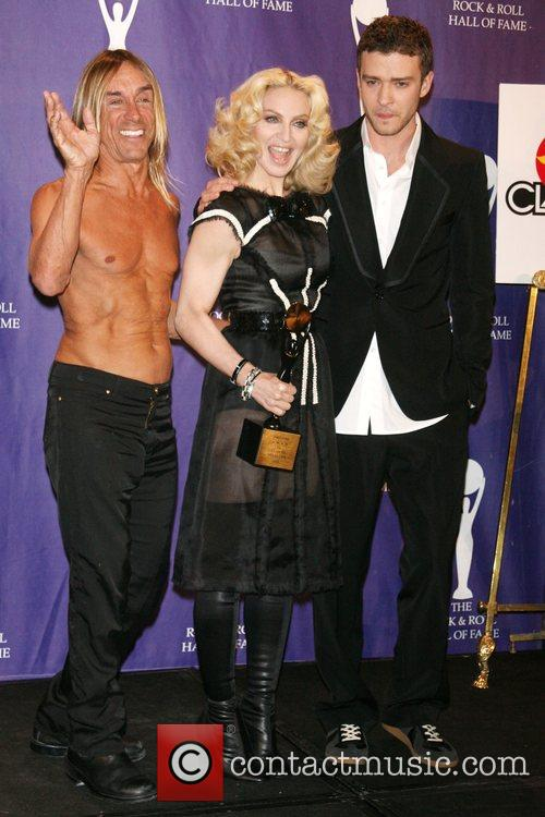 Iggy Pop, Madonna and Rock And Roll Hall Of Fame 11