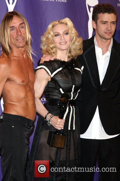 Iggy Pop, Madonna and Rock And Roll Hall Of Fame 4