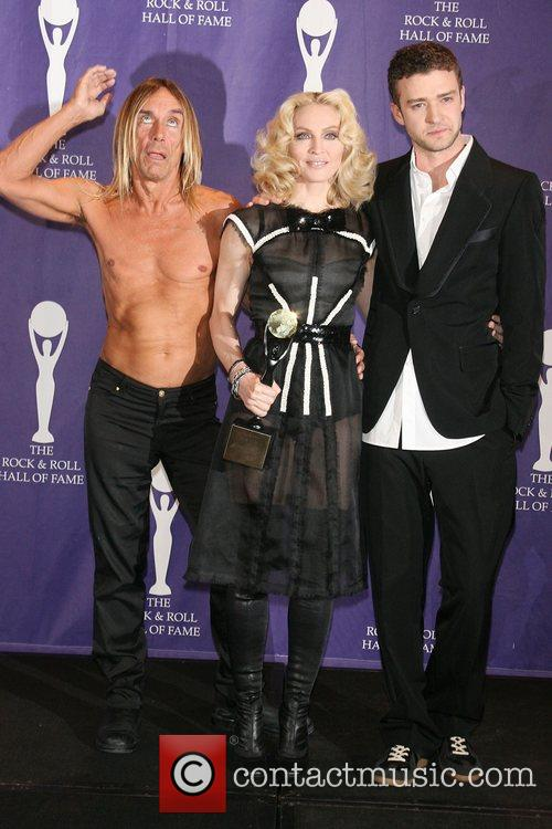 Iggy Pop, Madonna and Rock And Roll Hall Of Fame 10