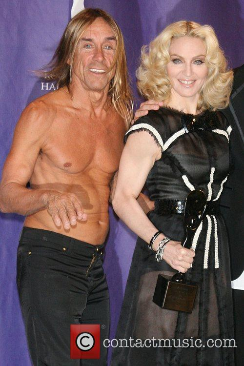 Iggy Pop and Rock And Roll Hall Of Fame 7