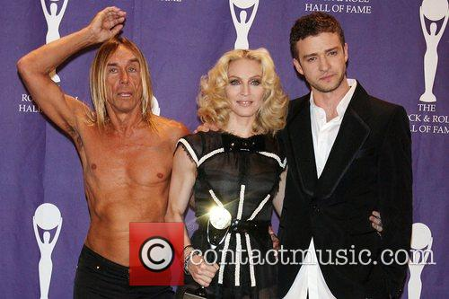 Iggy Pop, Madonna and Rock And Roll Hall Of Fame 8