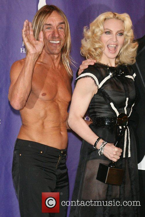 Iggy Pop and Rock And Roll Hall Of Fame 2