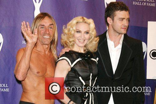 Iggy Pop, Madonna and Rock And Roll Hall Of Fame 9