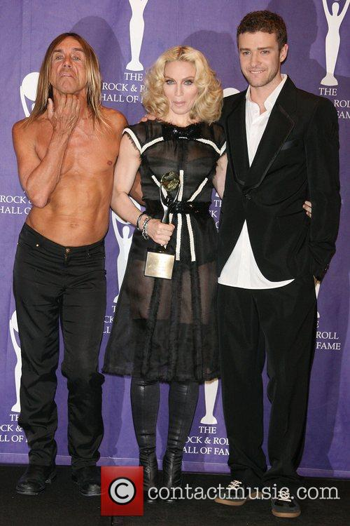 Iggy Pop, Madonna and Rock And Roll Hall Of Fame 5