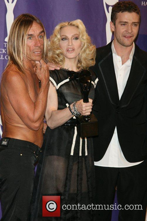 Iggy Pop, Madonna and Rock And Roll Hall Of Fame 13