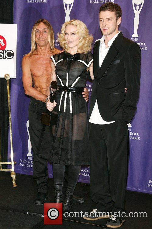 Iggy Pop, Madonna and Rock And Roll Hall Of Fame 12