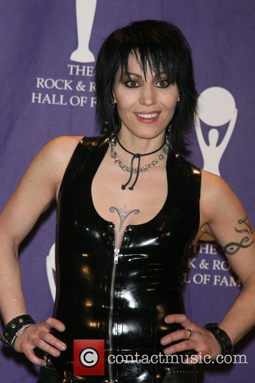 Joan Jett and Rock And Roll Hall Of Fame 1
