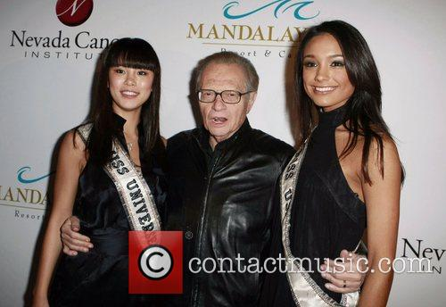 Riyo Mori and Larry King 4