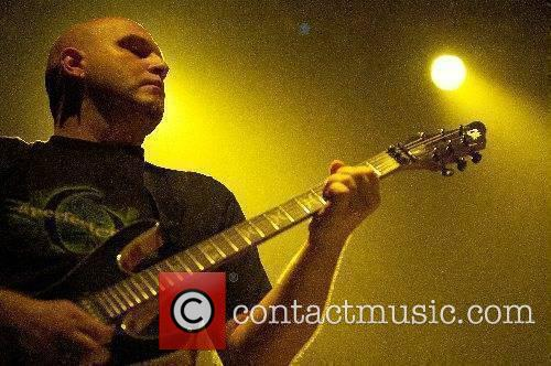 Riverside performing live at Rockhal