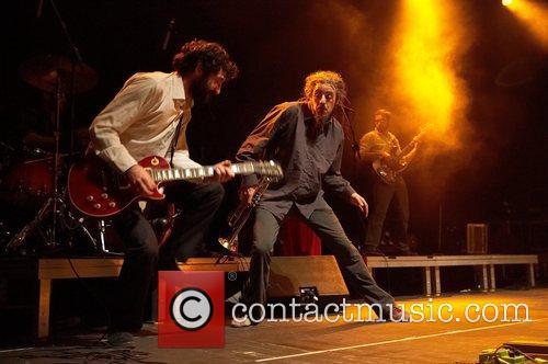 French band Babylon Circus performing live at Rockhal