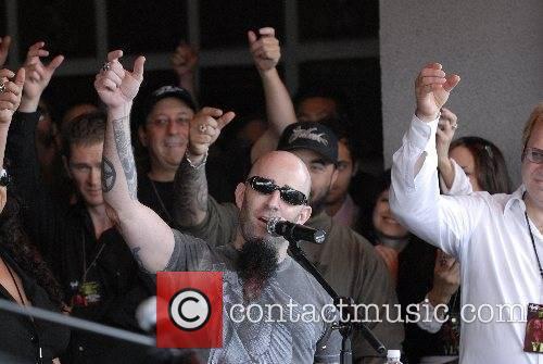 Scott Ian of Anthrax Legendary metal guitarist Dimebag...