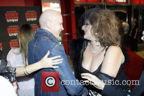 Richard O'Brien and Maria Venuti The premiere of...
