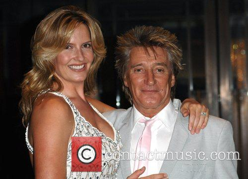 Rod Stewart and Penny Lancaster 10