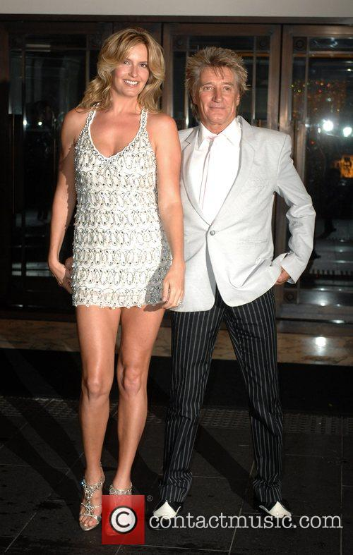 Rod Stewart and Penny Lancaster 9