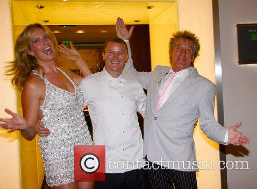 Penny Lancaster, Theo Randall and Rod Stewart Summer...