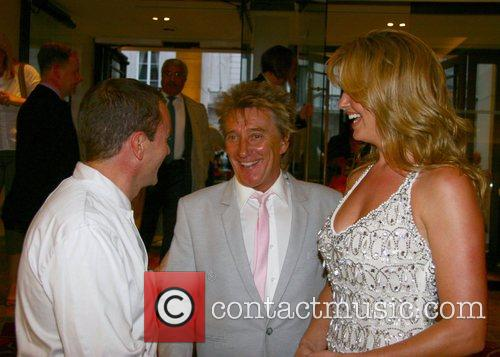Theo Randall, Rod Stewart and Penny Lancaster Summer...