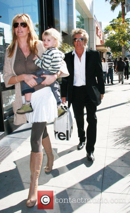 Rod Stewart and Penny Lancaster 6
