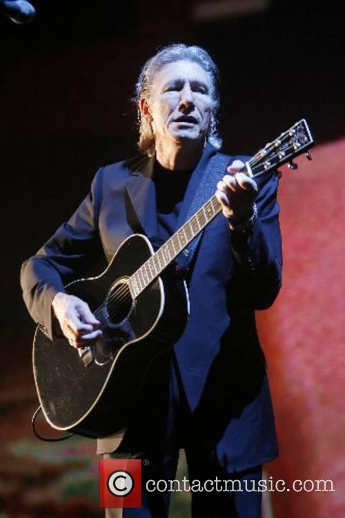 Roger Waters performing live at Earls Court