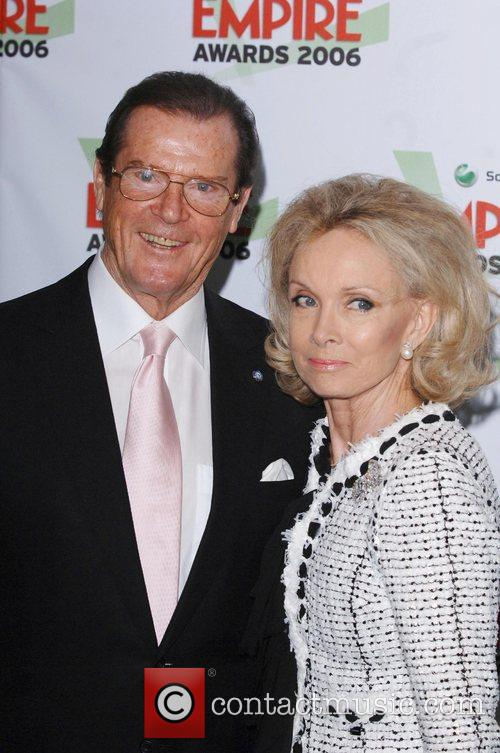 *SIR ROGER MOORE CELEBRATES HIS 80TH BIRTHDAY ON...
