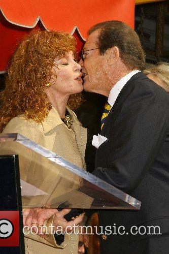 Stefanie Powers and Roger Moore 4
