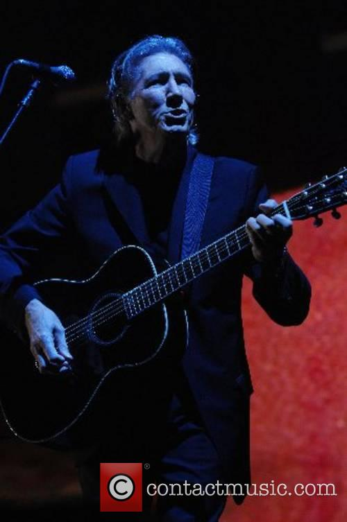 Roger Waters performing live at Earl's Court