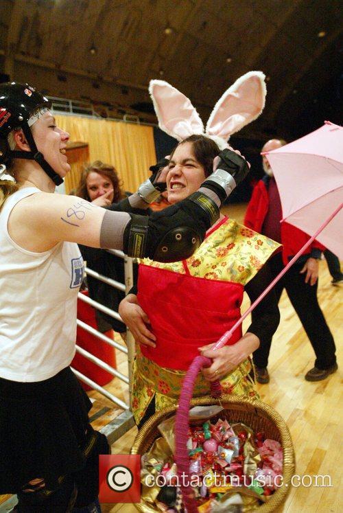 Atmosphere DC Rollergirls Spring Fling double header Washington...