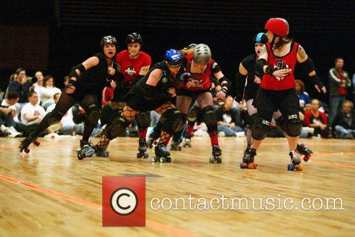Scare Force One vs. DC Demoncats DC Rollergirls...