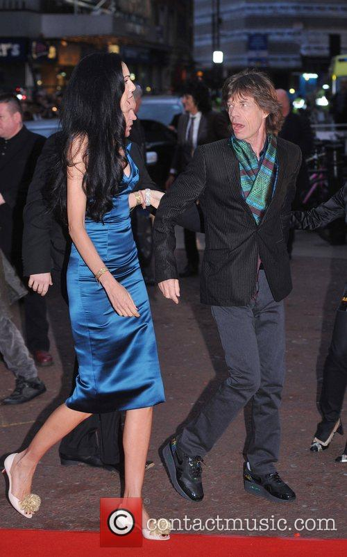 Mick Jagger and L'wren Scott 5