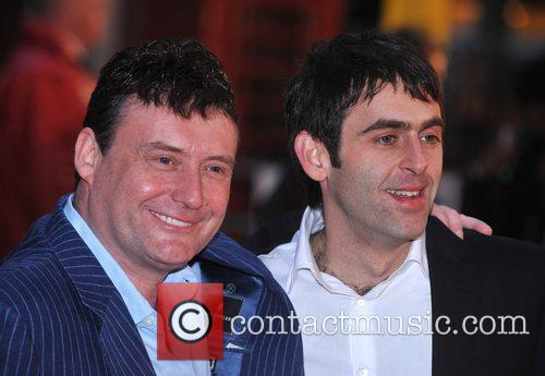 Jimmmy White and Ronnie O'Sullivan UK premiere of...