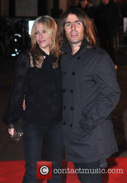 Liam Gallagher and Nicole Appleton UK premiere of...