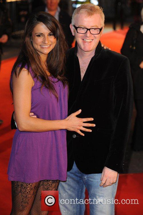 Chris Evans and Natasha Shishmanian UK premiere of...