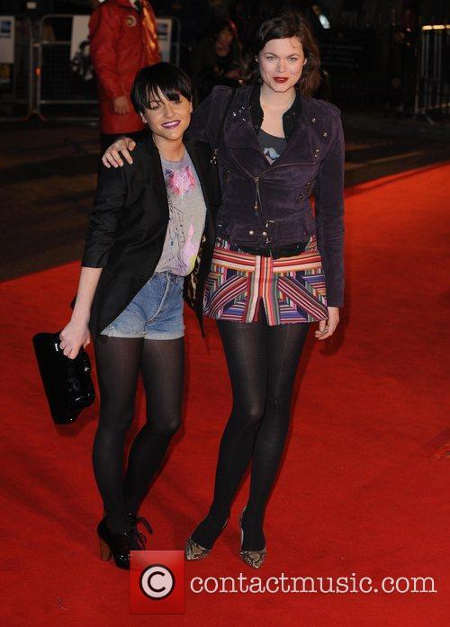 Jaime Winstone and Jasmine Guinness  UK premiere...