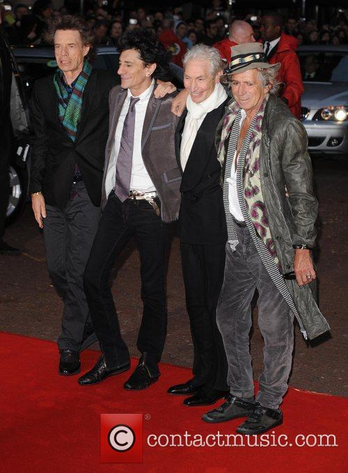 Mick Jagger, Charlie Watts, Keith Richards and Ronnie Wood 4