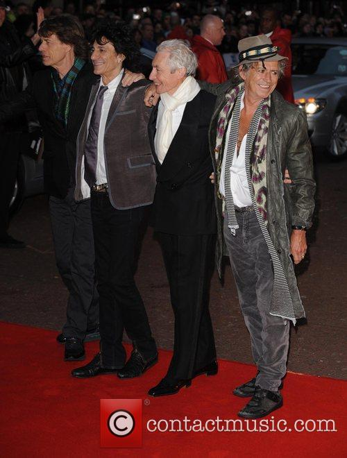 Mick Jagger, Charlie Watts, Keith Richards and Ronnie Wood 2