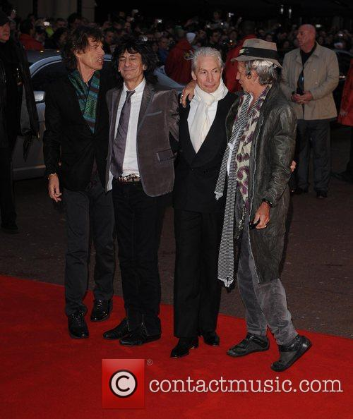 Mick Jagger, Charlie Watts, Keith Richards and Ronnie Wood 3