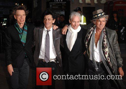 Mick Jagger, Charlie Watts, Keith Richards and Ronnie Wood 5