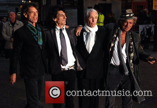 Mick Jagger, Charlie Watts, Keith Richards and Ronnie Wood 1