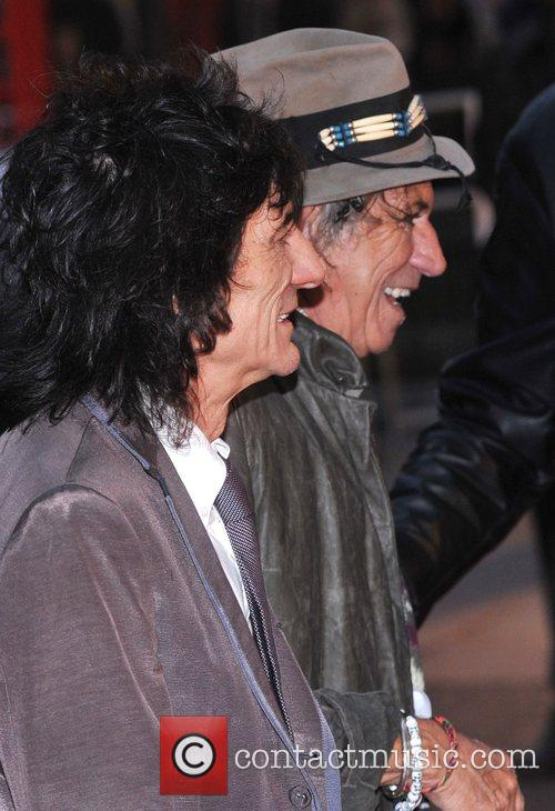 Ronnie Wood and Keith Richards 2